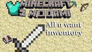Minecraft z modami #8 - All U want inventory - Zrób przedmioty swoich marzeń!
