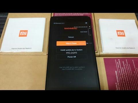Hard Reset Xiaomi mi2 Redmi 2