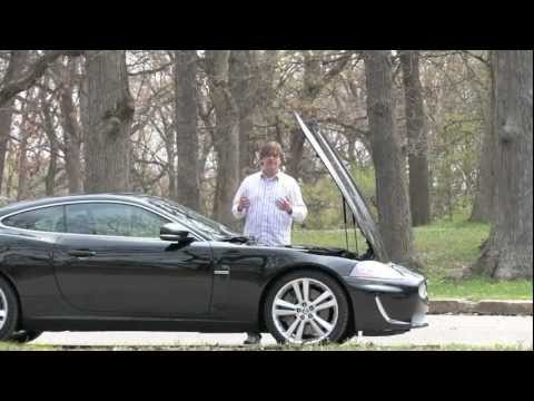 Jaguar XKR Coupe--Video Test Drive with Chris Moran