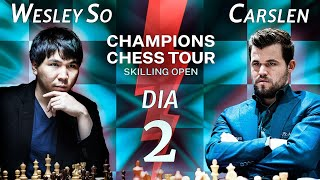 A Grande FINAL - Champions Chess Tour - Skilling Open - Dia 2