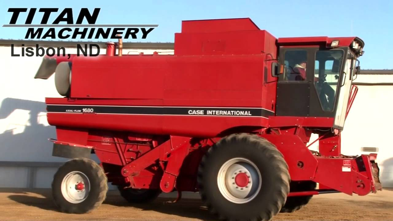 Case Ih 1680 : Case ih combine for sale youtube