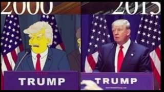 amazing the simpsons predicted trump presidency 15 years ago