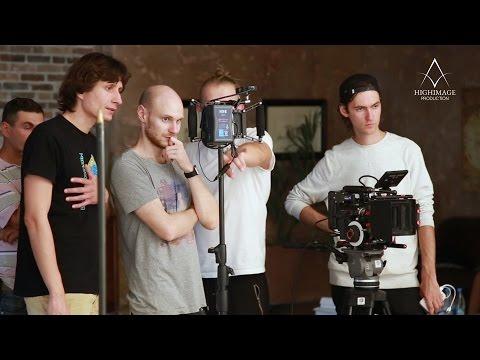 Бэкстэйдж съемки на RED рекламного ролика (HIGHIMAGE.ORG)