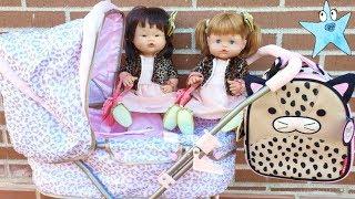Ani y Ona Nenuco estrenan colección fashion de pequeñas divas en leopardo rosa y dorado