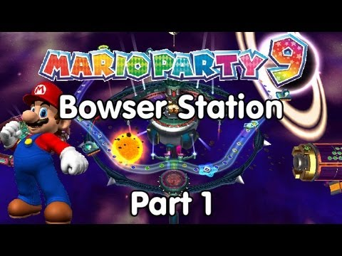 Mario Party 9 Bowser Station Part 1 2 Youtube