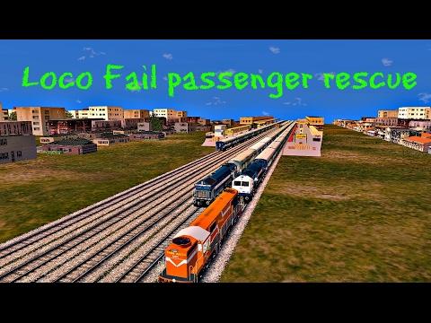 Loco Fail Passenger Rescue