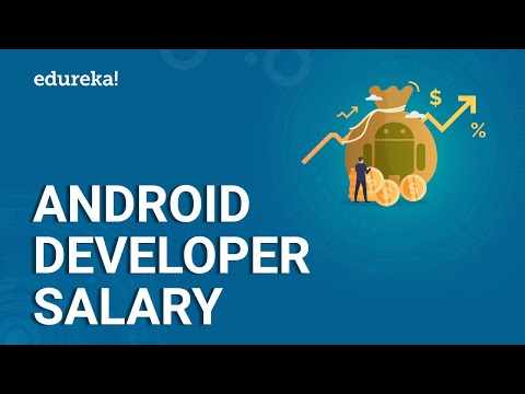 Android Developer Salary | Average Salary Of An Android Developer In India And US | Edureka