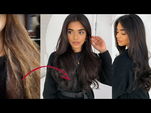VLOG 4: TAG along to get my hair toned & BEST BLOWDRY EVER!!