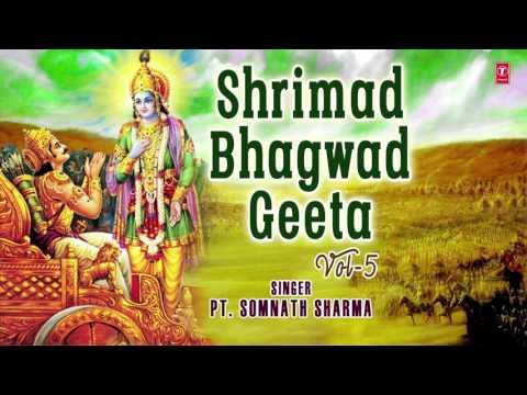 SHRIMAD BHAGWAD GEETA VOL.5 (Part 16,17,18) BY PANDIT SOMNATH SHARMA I FULL AUDIO SONG ART TRACK