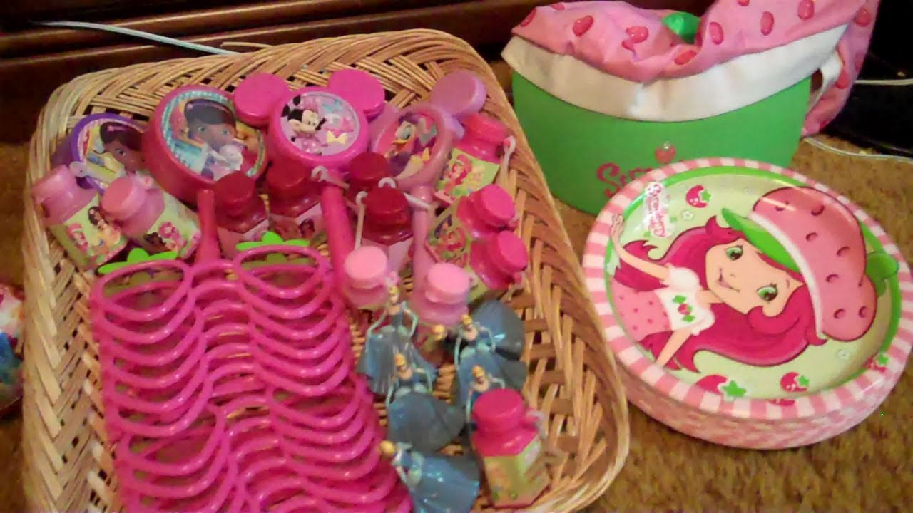 Birthday Presents and Party Favors for a 4 Year Old Girl YouTube