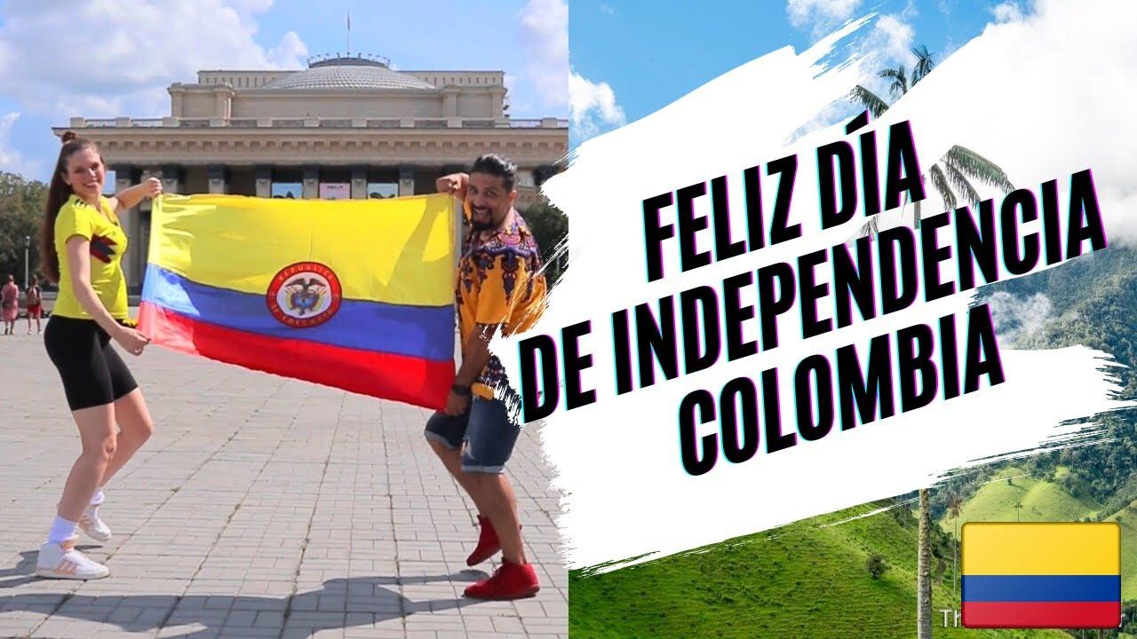 DESDE NOVOSIBIRSK RUSIA 🇷🇺 FELIZ DIA DE INDEPENDENCIA COLOMBIA 🇨🇴