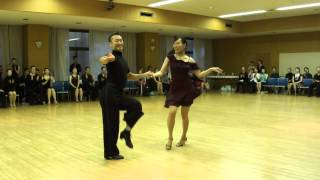 Jive Honor Dance Ballroom Dance Competition 14th CDC Education Cup Japan 2014.03