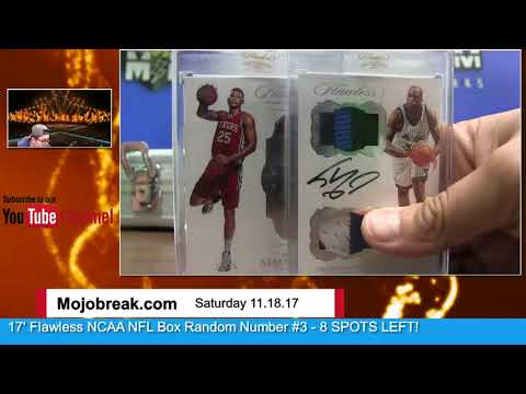 SIMMONS SAYS - 11/18 - 2016-17 Panini NBA Flawless 2 Box Case Break Random Groups #2