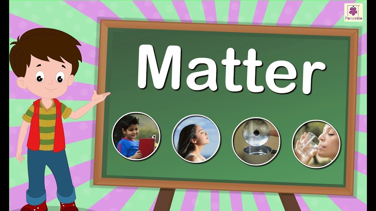 matter science animated