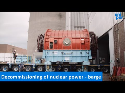 Decommissioning of nuclear power - barge