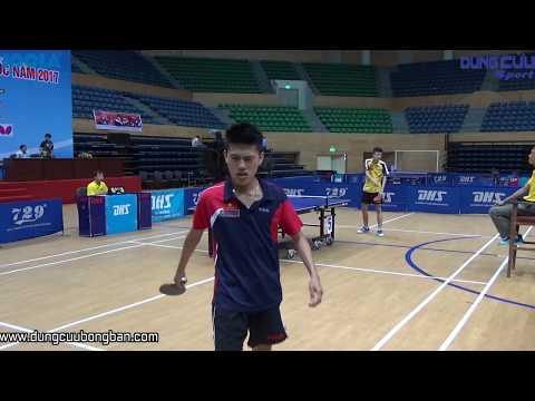 Đặng Trần Phú (Sóc) vs Vũ Quang Hiền (Hải Dương) - Tứ Kết Giải Bóng Bàn Các Đội Mạnh Toàn Quốc 2017