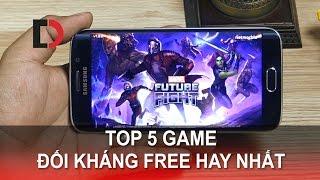 Di Động Việt - Top 5 GAME Đối kháng Free Hay nhất