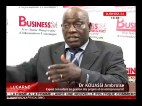 Business 24 / Lucarne reçoit Dr Kouassi Ambroise expert consultant en gestion des projets
