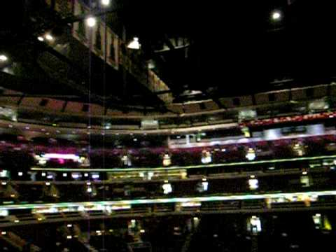 United Center from Section 201