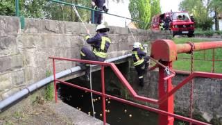 Cold-Water-Challenge der Feuerwehr Bäntorf