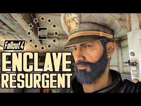 Fallout 4 - THE ENCLAVE IS BACK! - Enclave Resurgent Faction & Quest Mod