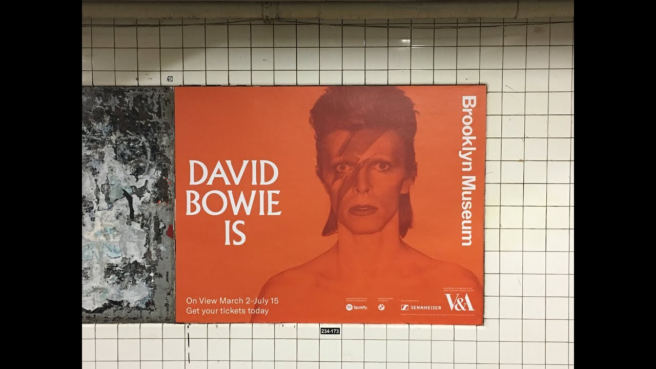 The 'David Bowie Is' show @ the Brooklyn Museum image