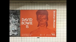 The 'David Bowie Is' show @ the Brooklyn Museum