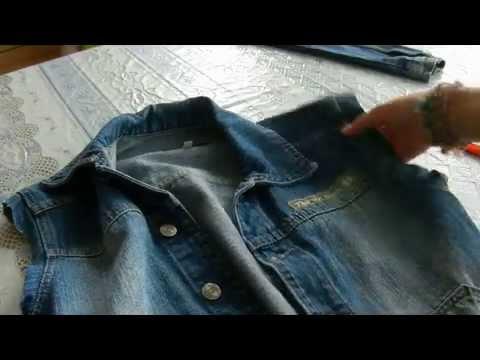 джинсовые безрукавки женские фото
