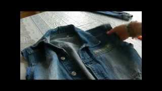 видео С чем носить джинсовую жилетку
