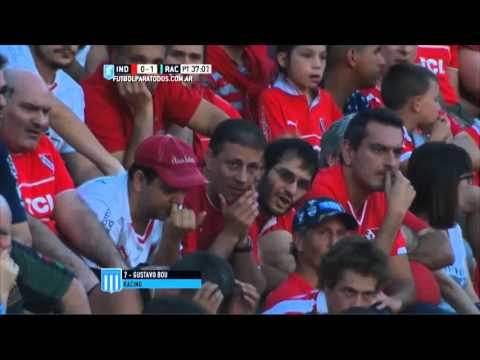 Racing sorprendió a Independiente y le ganó 2 a 0