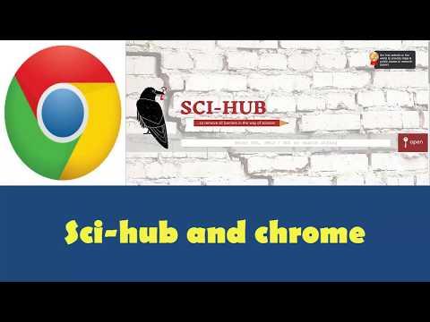 Sci hub chrome extension