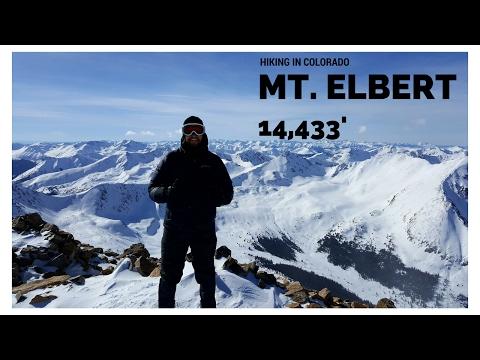 Mount Elbert Winter Ascent - Colorado 14ers