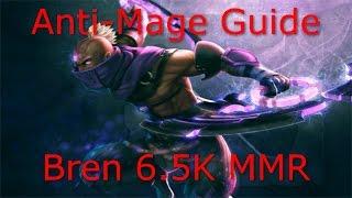 Dota 2 Anti Mage Guide: 6.5K MMR - Farming Tricks, farming fast TECHNIQUES