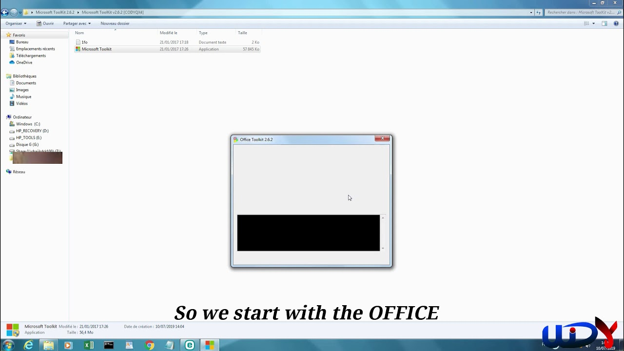 How to Activate Windows and Microsoft Office using Microsoft Toolkit 2.6.2 - YouTube