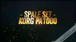 Spale set - Korg Pa1000 - Deo seta