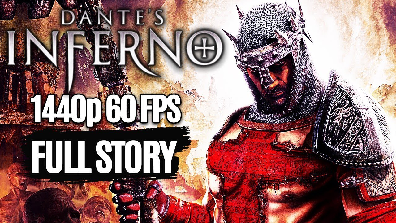 Download DANTE'S INFERNO All Cutscenes Full Story (Game Movie) @ 1440p 60FPS