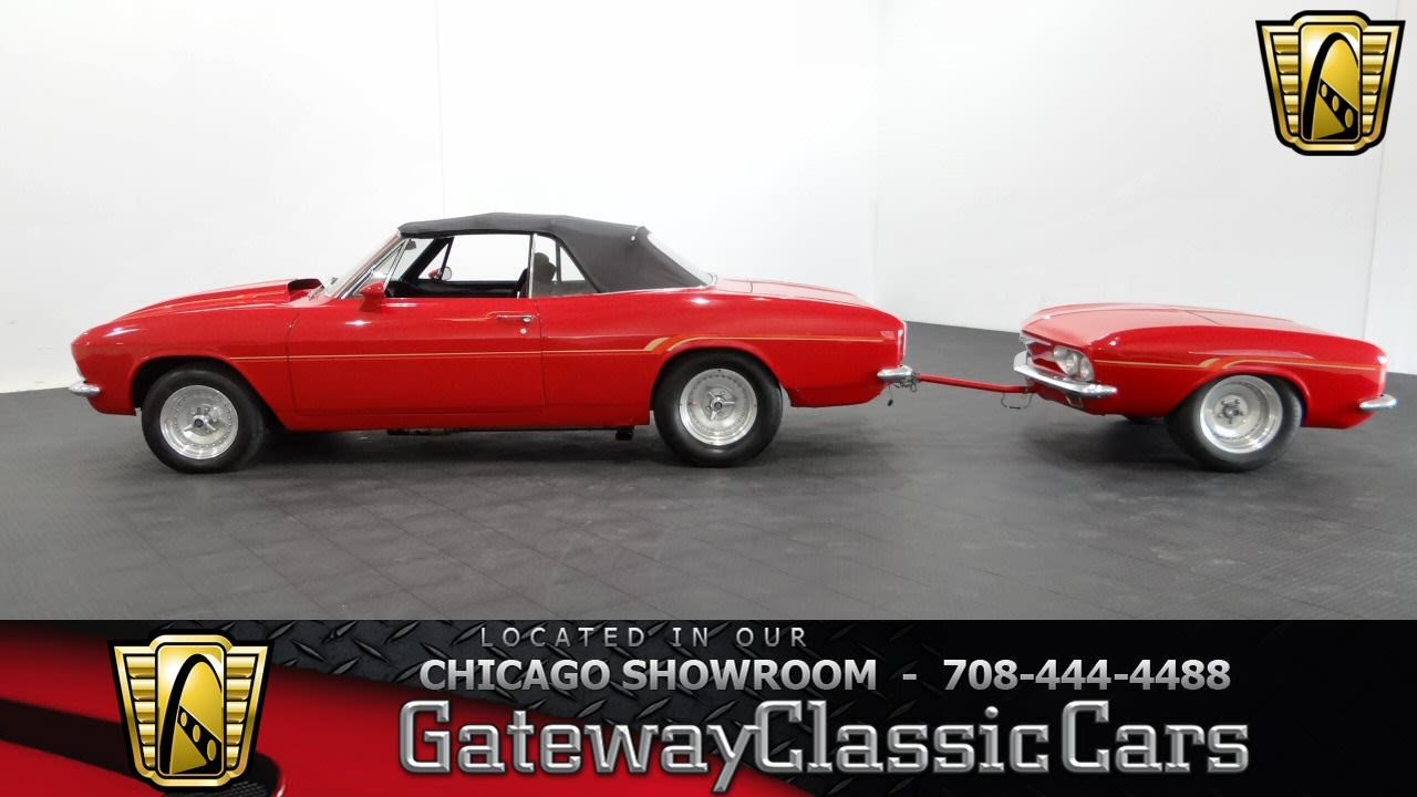 1965 Chevrolet Corvair Gateway Classic Cars Chicago #917 #918