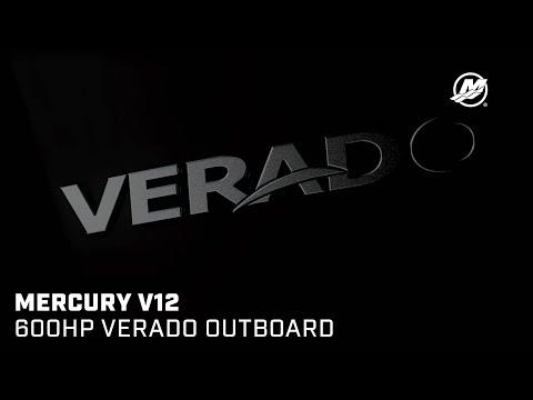 Introducing the Mercury V12 600hp Verado Outboard