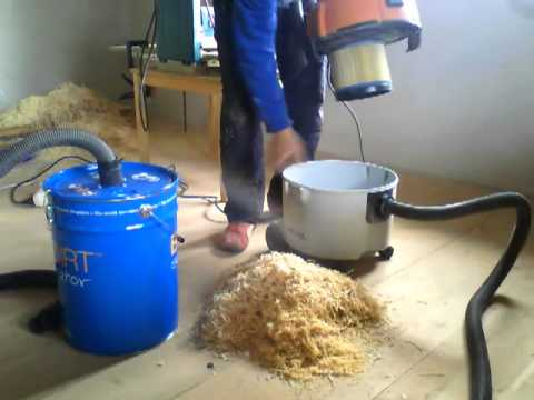 Cyclone separator  big dirt!!! cheap an easy way!!