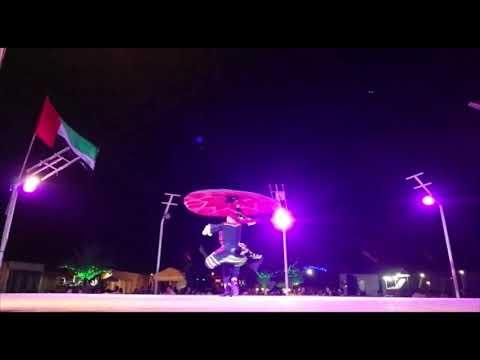 AMAZING TANURA DANCE IN DUBAI DESERT CAMP