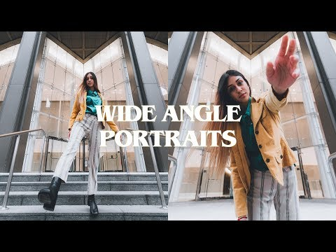How To Shoot Wide Angle Portraits