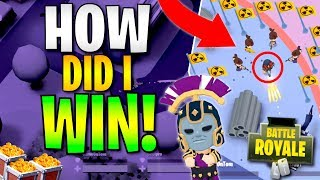 HOW DID I WIN! YOU WON'T BELIEVE THIS TAKEDOWN IN BATTLELANDS ROYALE! (Season 3 High Kill Games)