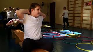 Занятия по физкультуре. 4 класс СЭПШ