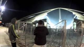 Football violence:  PANATHINAIKOS X OLYMPIAKOS 2012