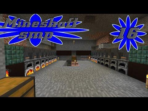 Simple Semi-Auto Furnace ~ Minecraft Mineshaft SMP S2 Episode 16
