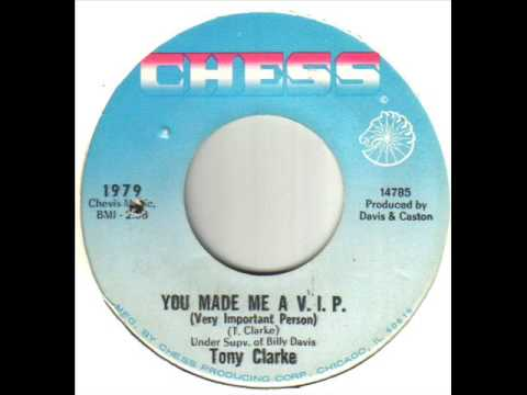 Tony Clarke They Call Me A Wrong Man