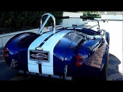 65 Shelby Cobra Replica   At Celebrity Cars Las Vegas