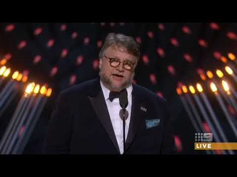 Guillermo Del Toro wins the Oscar for Best Directing 2018 [HD]