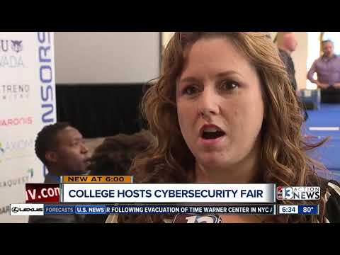 College of Southern Nevada hosts cybersecurity fair