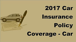 2017 Car Insurance Policy Coverage  | Car Breakdown Cover   Have a Worry Free Car Driving Experience